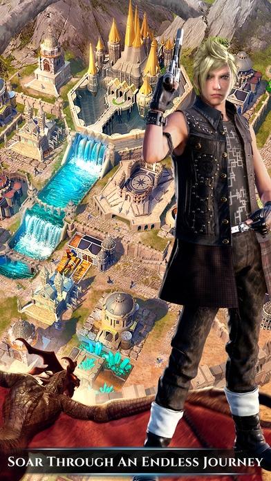 Final Fantasy XV New Empire heros