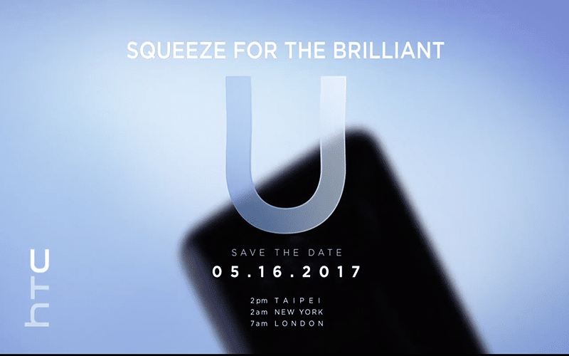 HTC U teaser successeur HTC 10