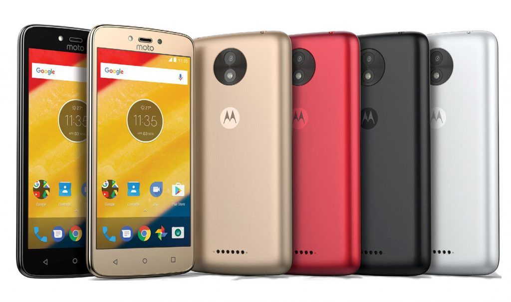 Moto C et Moto C plus low coast