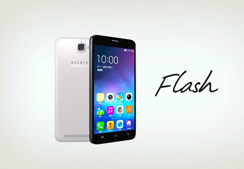 smartphone alcatel flash