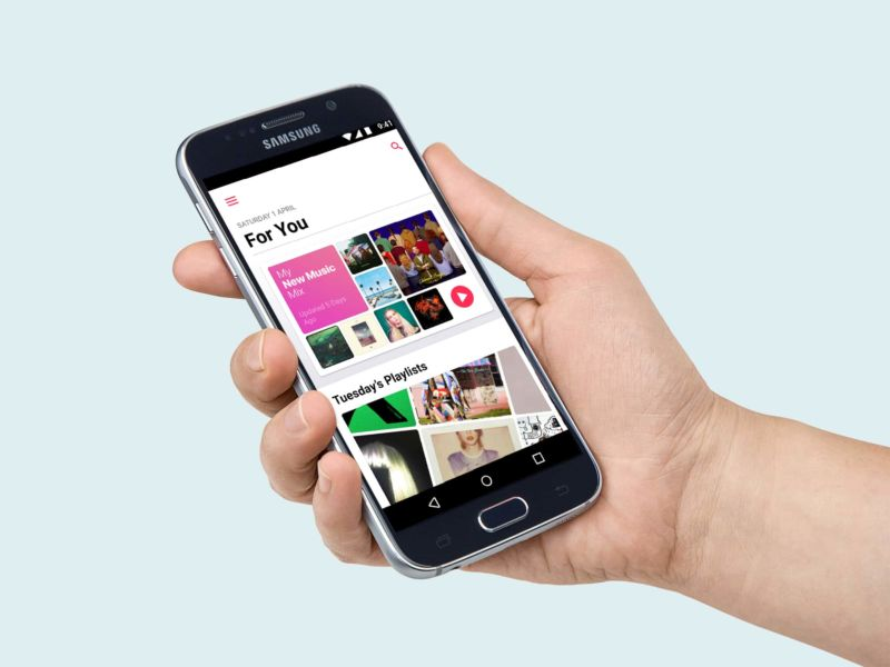 apple music 2.0 android
