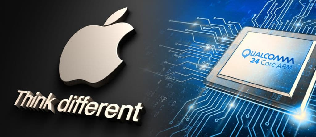 Apple Qualcomm soutien Samsung Intel