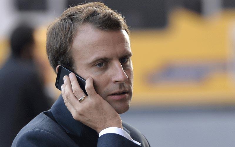 Macron : fourniture des données cryptées par les GAFA