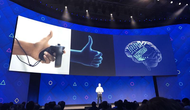 faebook interface cerveau smartphone