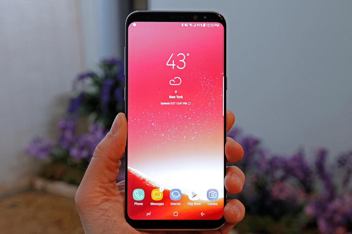 galaxy S8 écran rouge remplacement