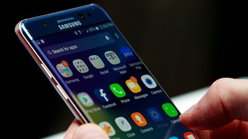 Galaxy Note 8 double caméra arrière