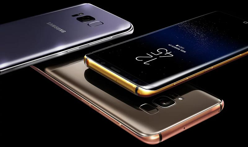 Galaxy S8 Or Platine