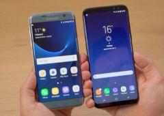 galaxy s8 vs galaxy S7  alternative au galaxy S8