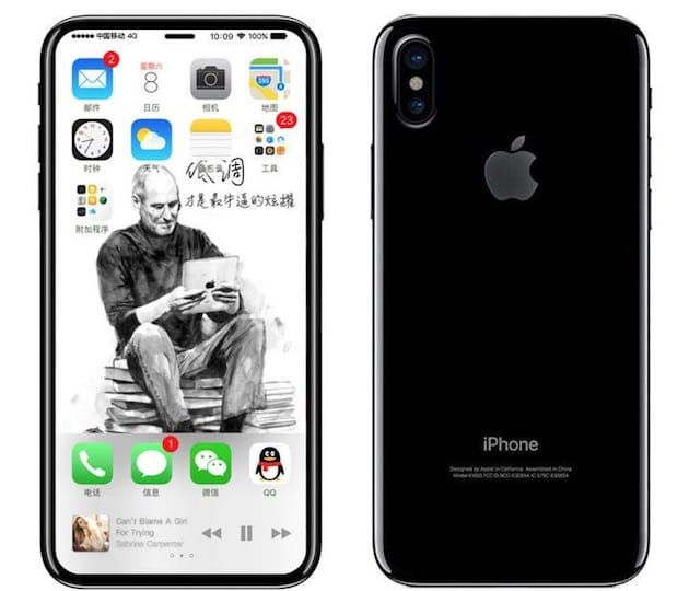 iphone 8 edition rendu design