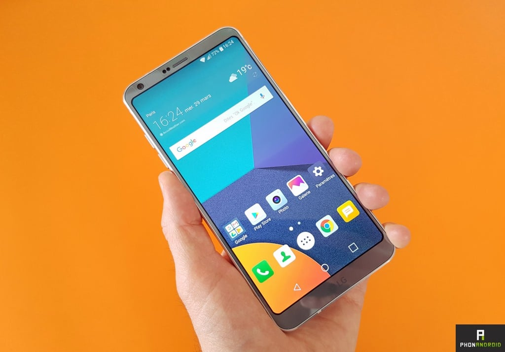 lg benefices hausse g6