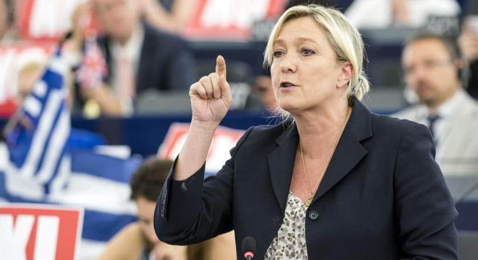 Marine Le Pen daech twitter