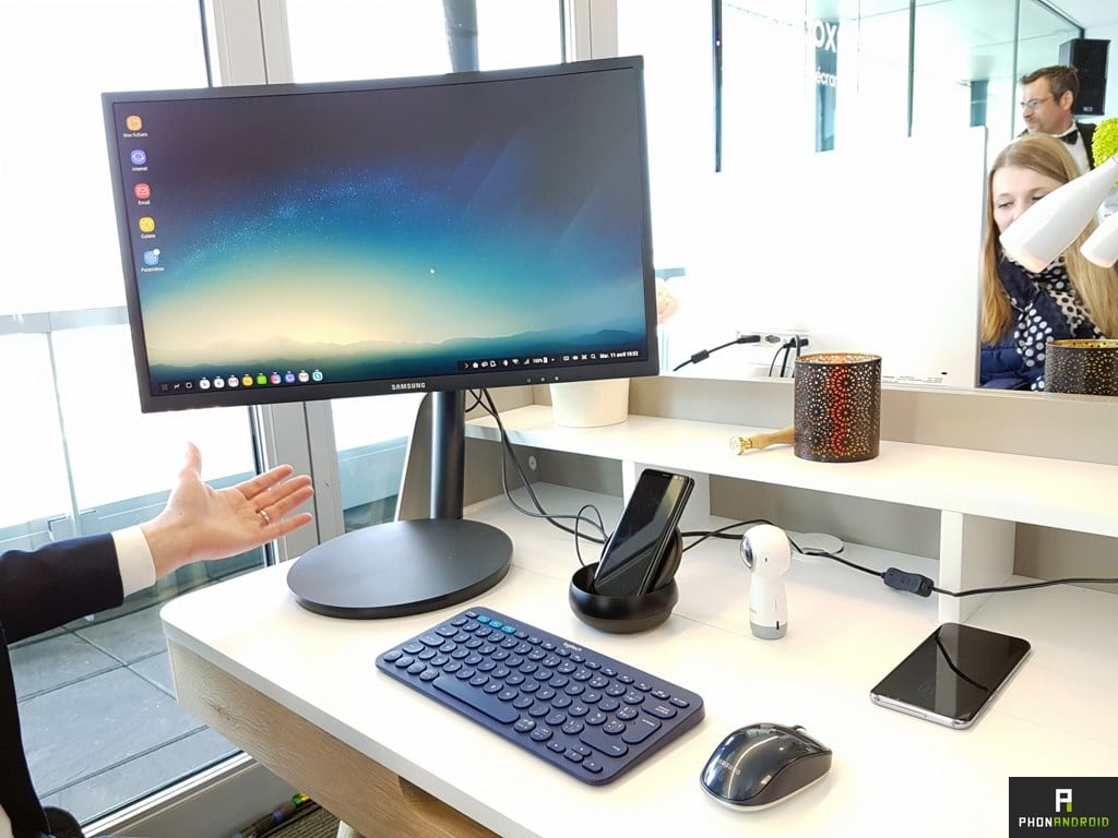 samsung dex galaxy s8 plus