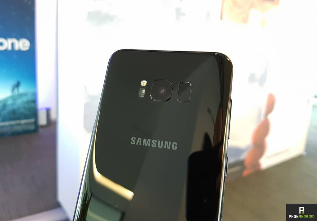samsung galaxy s8 plus capteur photo