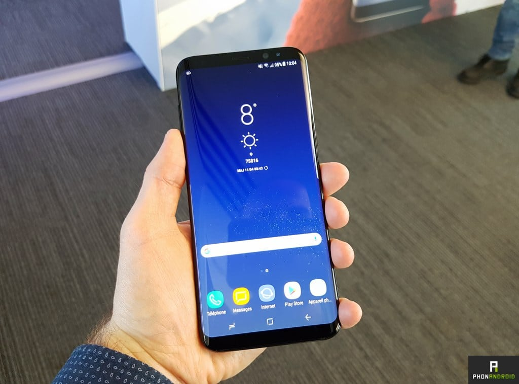 samsung galaxy s8 plus prise en main