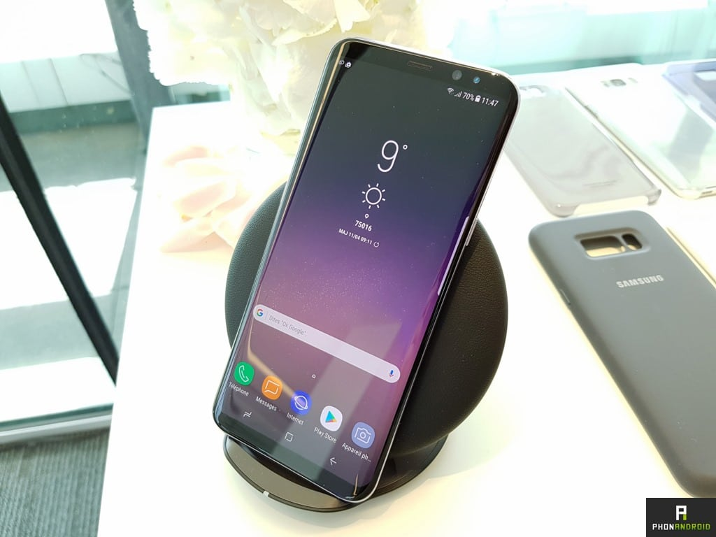 samsung galaxy s8 plus recharge induction