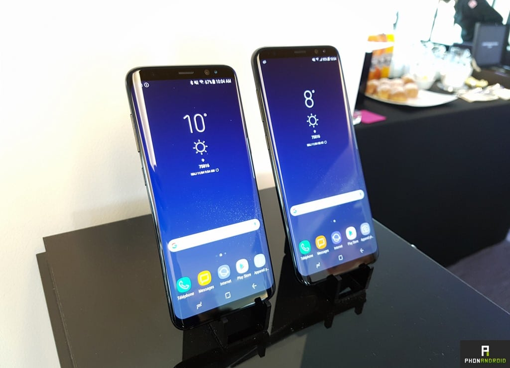 samsung galaxy s8 et s8 prise en main et premier test des deux monstres. Black Bedroom Furniture Sets. Home Design Ideas