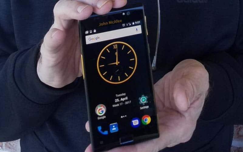 smartphone securise 1100 dollars