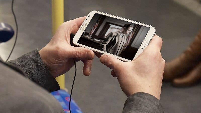 télévision smartphone