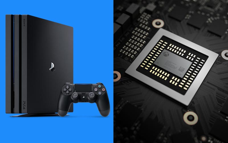 Xbox One X PS4 Pro