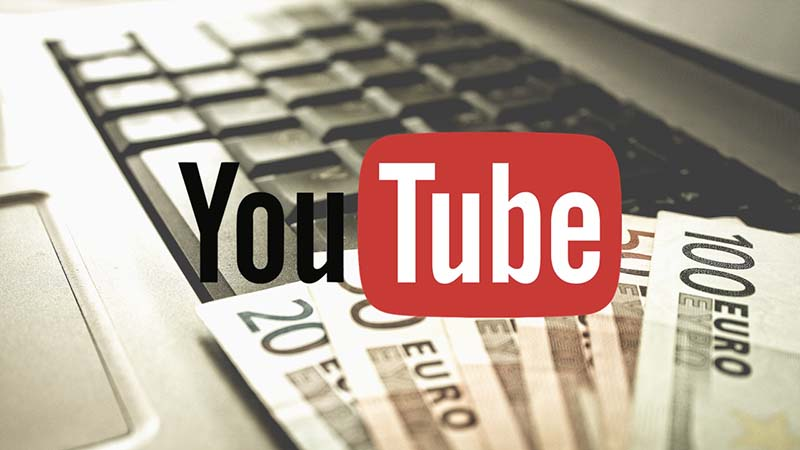youtube revenus publicité