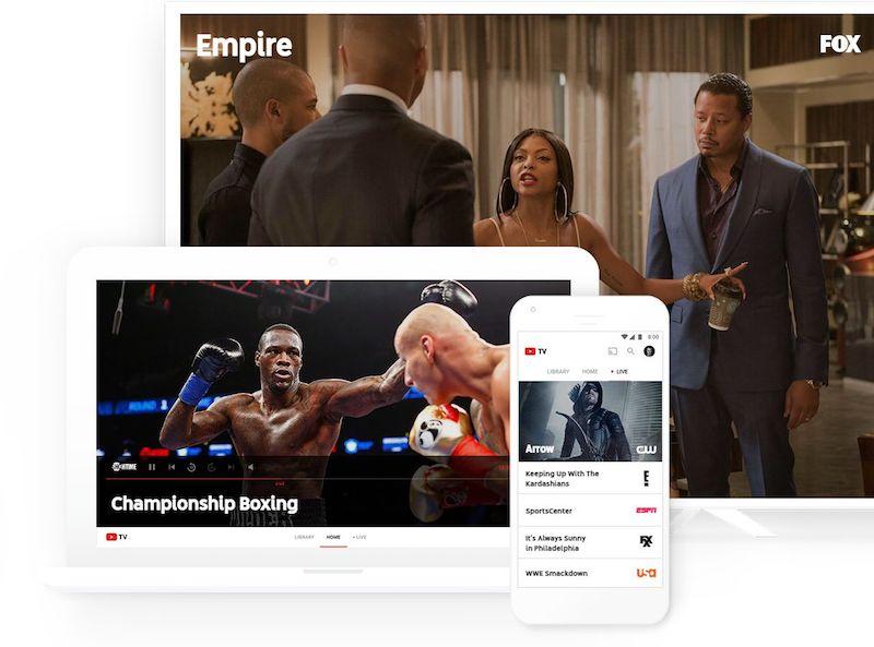 youtube tv lancement officiel