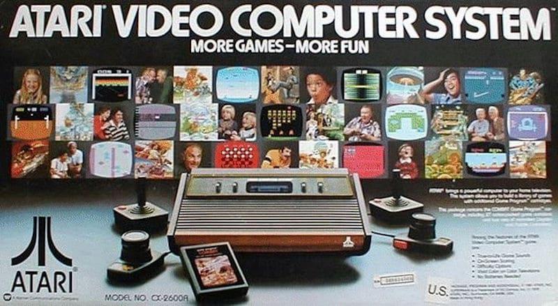 Atari 2600 Mini retrogaming