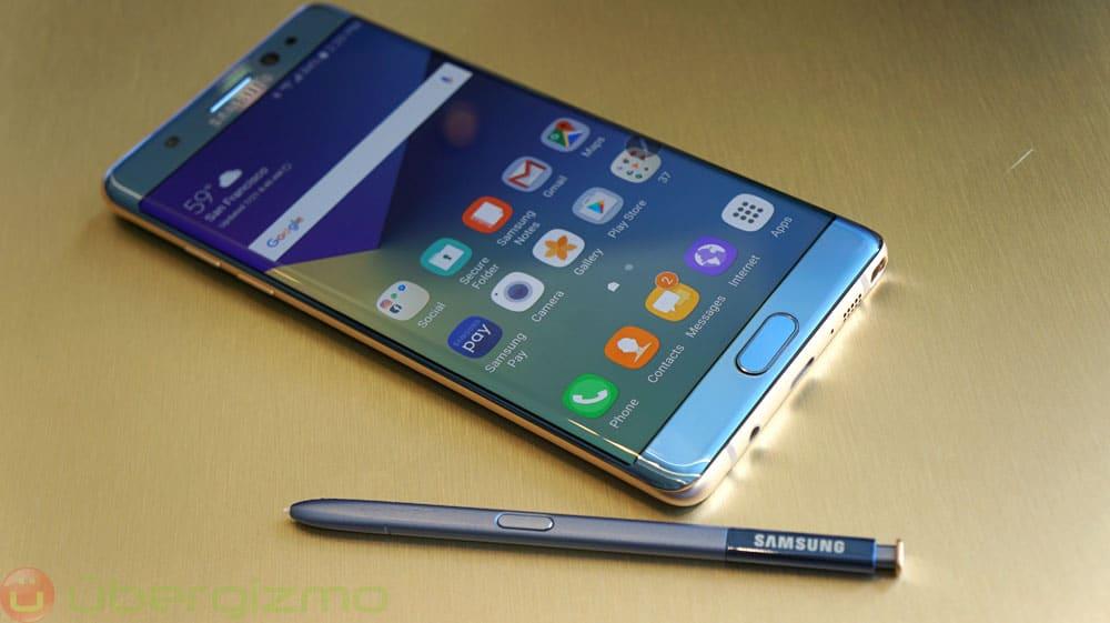 Galaxy Note 7R sortie retard certification