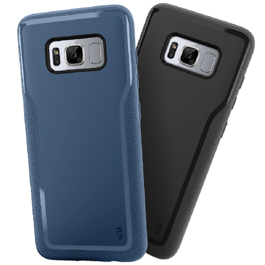 silk base grip coque Galaxy S8 Plus