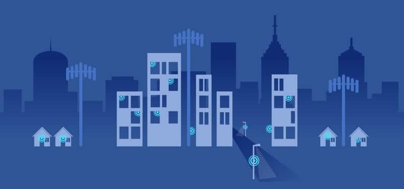 antennes 5g villes