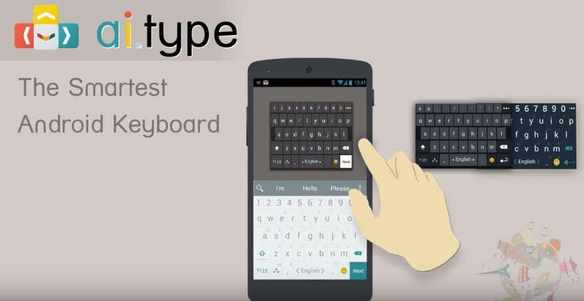 clavier android ai type