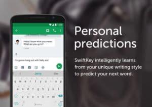 clavier android swiftkey