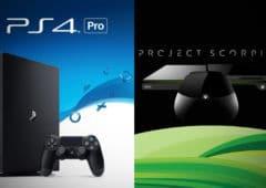 consoles ps4 pro project scorpio