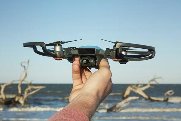dji spark drone democratiser