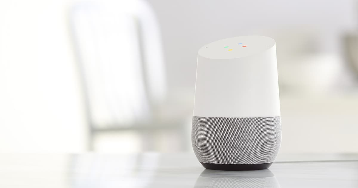 Google Home à la Googe I/O 2017