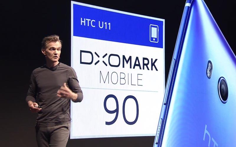 HTC U11 DxoMark