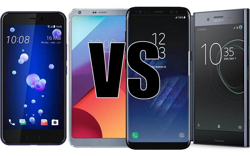 HTC Samsung LG Sony Versus