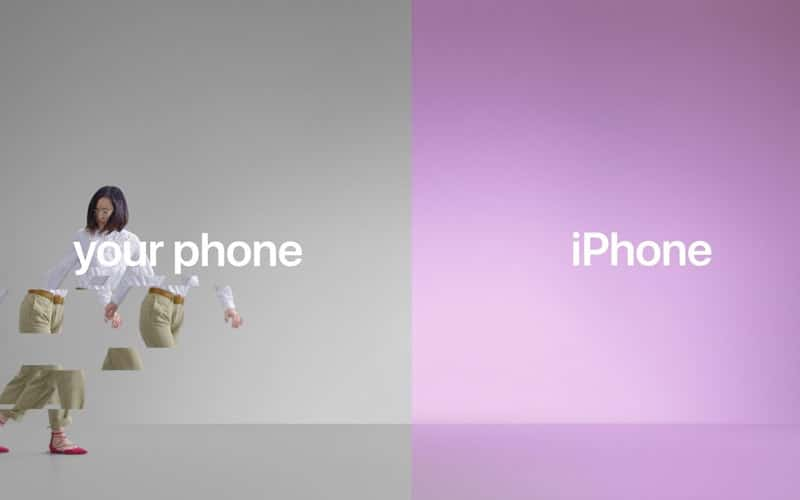 iphone android apple publicites