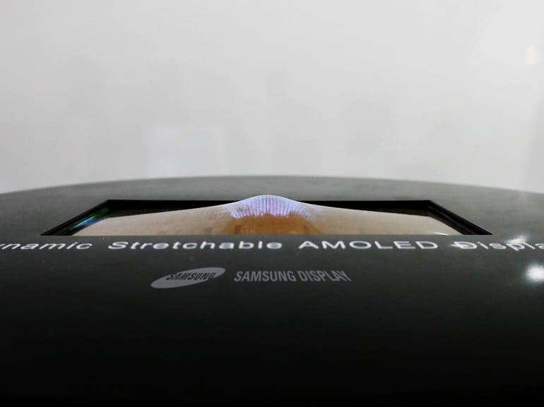 samsung, écran étirable