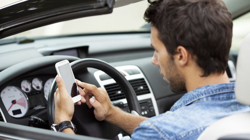 smartphone volant amendes