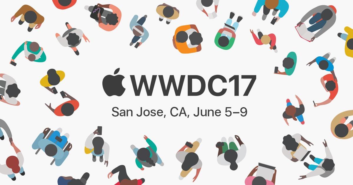 wwdc 2017 apple annonces
