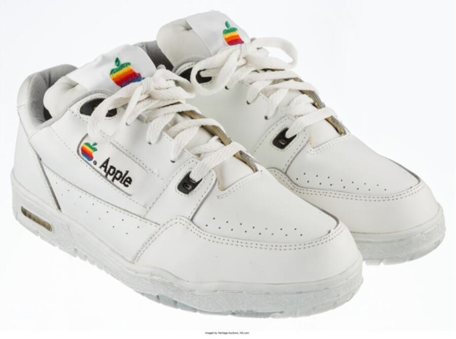 sneakers apple vintage collectors steve jobs