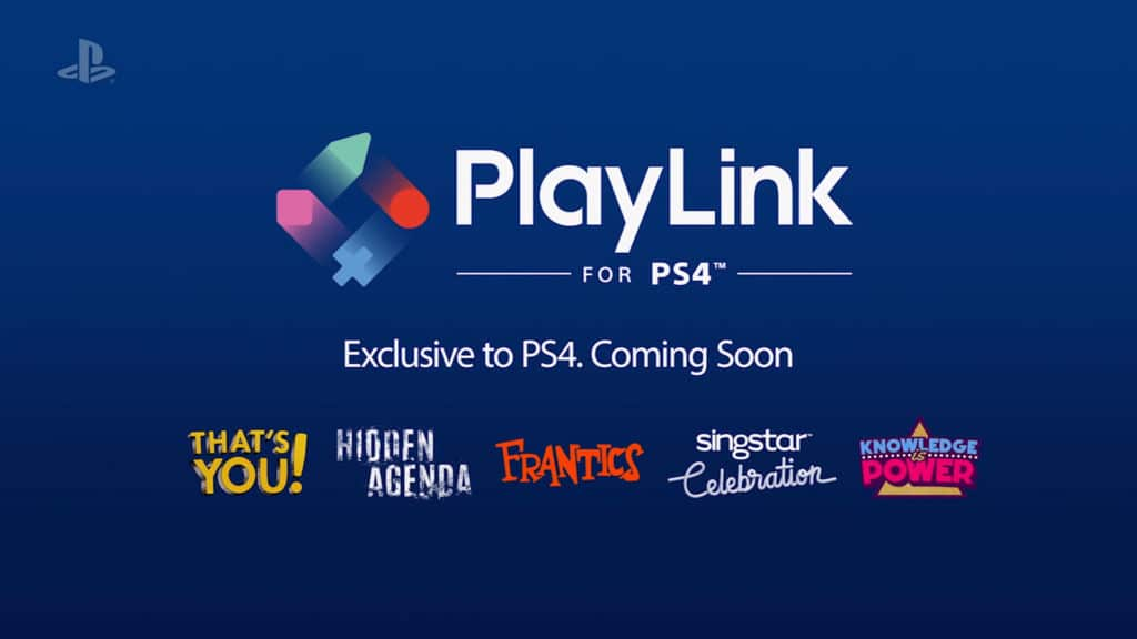 playlink ps4 smartphone sony