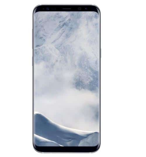 Smartphone-Samsung-Galaxy-S8-64-Go-Argent-Polaire