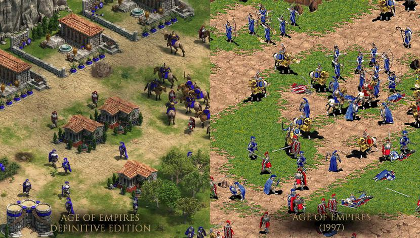 Age of empires definitive edition jeux video 4K 20 ans