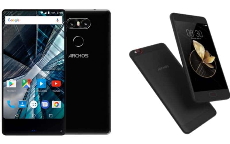 archos sense 55s ce smartphone borderless sera vendu 169 euros peine. Black Bedroom Furniture Sets. Home Design Ideas