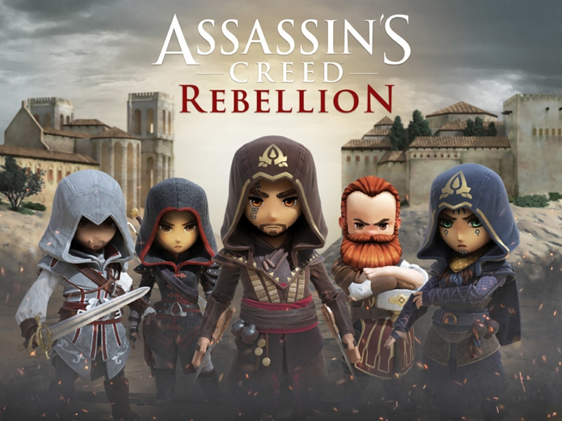 assassin's creed rebellion, assassin's creed, jeu mobile, rpg, ios, android