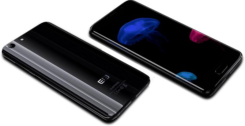 elephone s7 smartphone borderless