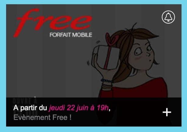 vente privée forfait free mobile
