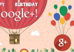 google + anniversaire