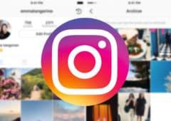 instagram mise a jour archive